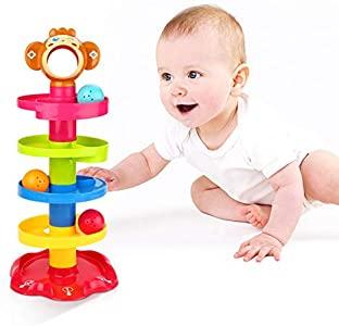 ygjt baby spielzeug ab 6 monate kugelbahn